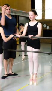 On pointe! MD